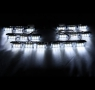 Стробоскопы под решётку GRLI-16x2, белые