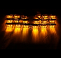Стробоскопы под решётку GRLI-16x2, желтые